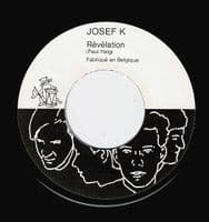 JOSEF K Sorry For Laughing Vinyl Record 7 Inch Begian Les Disques Du Crepuscule 1981